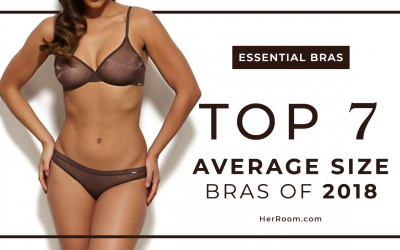 Top 7 Average Size Bras of 2018