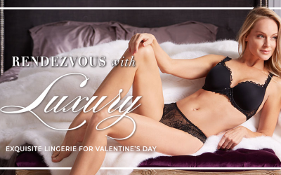 Favorite Luxury Lingerie for Valentine's Day
