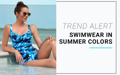 Trend Alert: Swimwear in Summer Colors