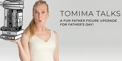 Tomima Talks: A Fun Father Figure Upgrade on Father's Day!
