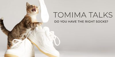 Tomima Talks: Do You Have the Right Socks?