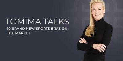 Tomima Talks: 10 New Sports Bra Designs