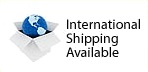 International Shipping Available