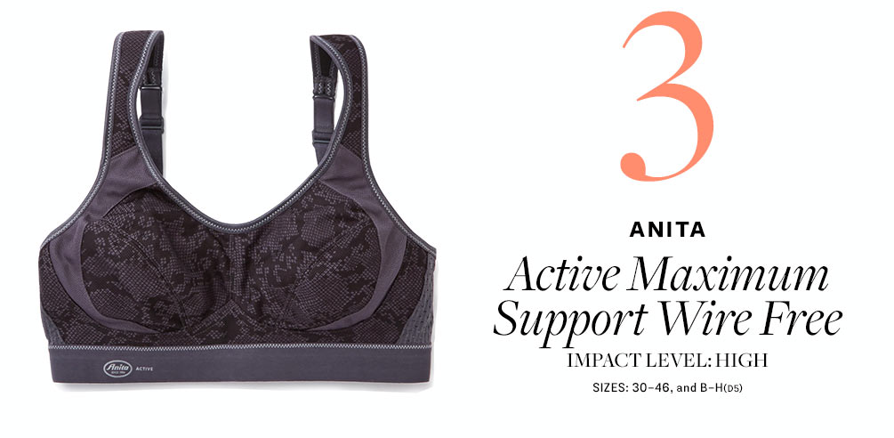Anita Active Maximum Support Wire Free Sports Bra 5527