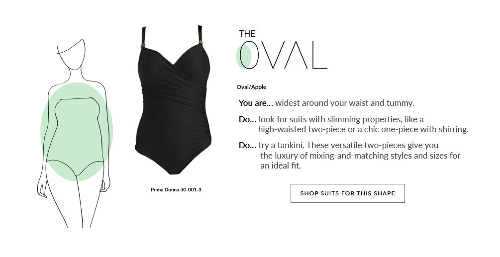 Swim By Shape Lookbook - Oval