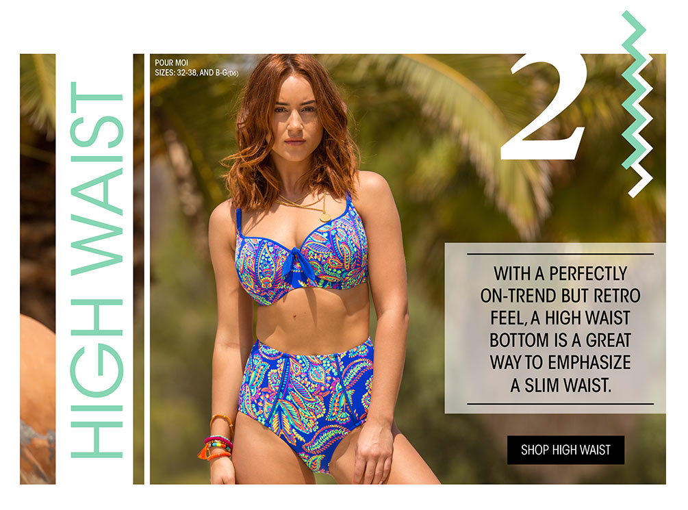 Top 5 Swim Trends Lookbook - High Waist Swimwear