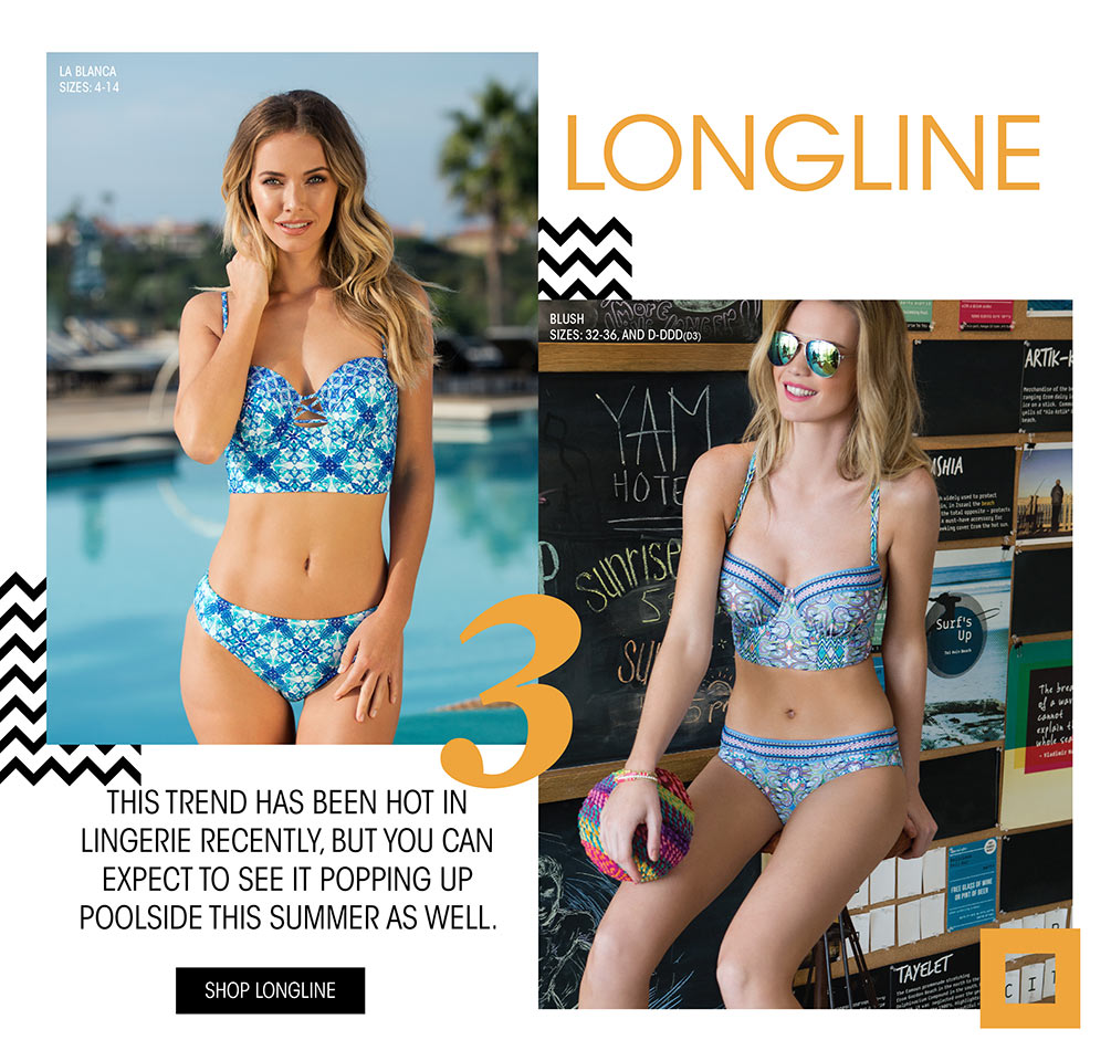 Top 5 Swim Trends Lookbook - Longline Swimwear