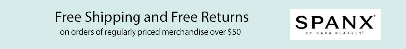SPANX - Free Shipping and Returns