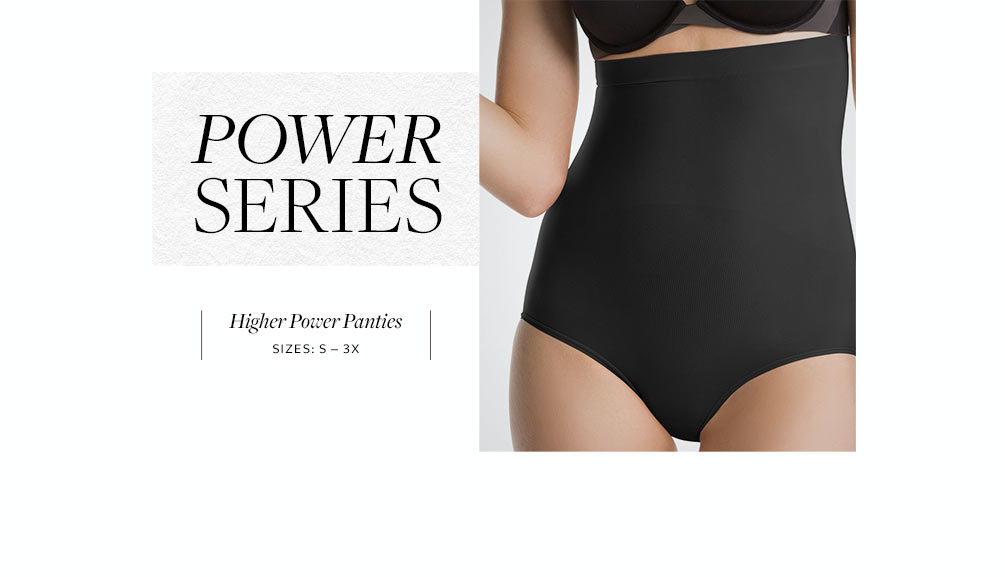 SPANX Power Series Higher Power Panties 2746