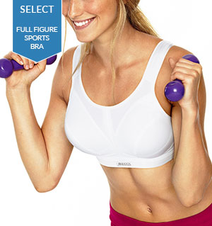 Full Figure: Shock Absorber D+ Max Support Sports Bra SN109