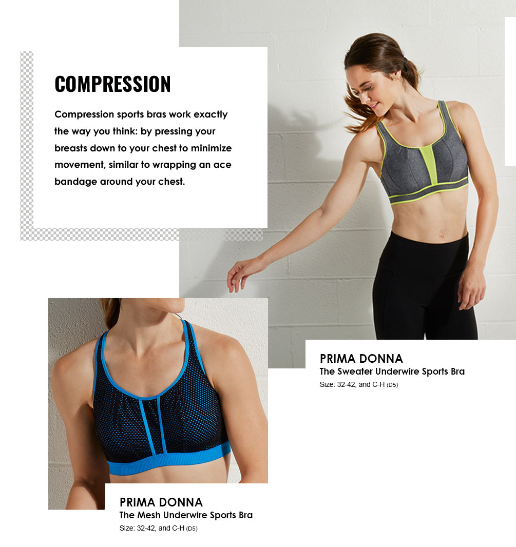 Sports Bras Lookbook - Compression