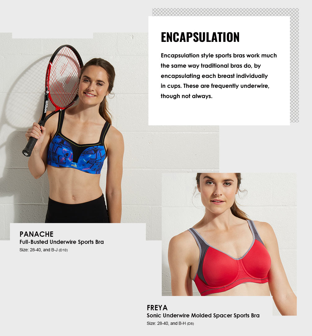 Sports Bras Lookbook - Encapsulation