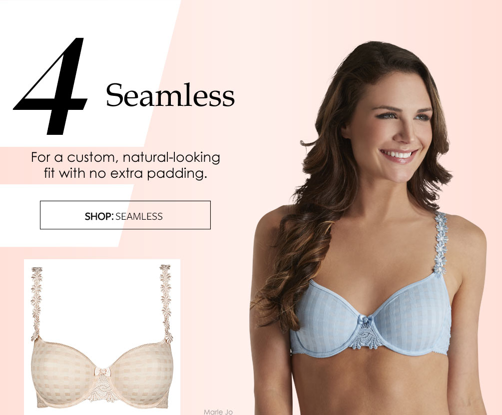 The Best Bras You Need Now Lookbook - Seamless