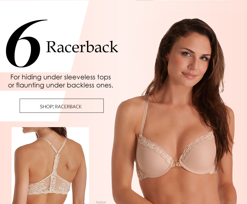 The Best Bras You Need Now Lookbook - Racerback