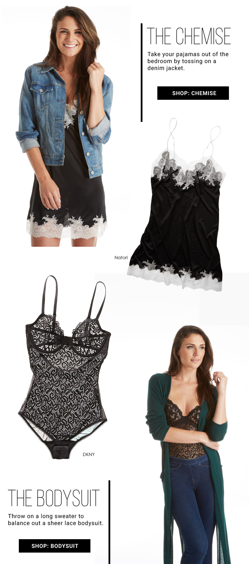 How To Wear Lace Lookbook