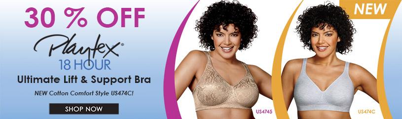 59826fe2d Shop for Playtex Lingerie for Women - Lingerie by Playtex - HerRoom