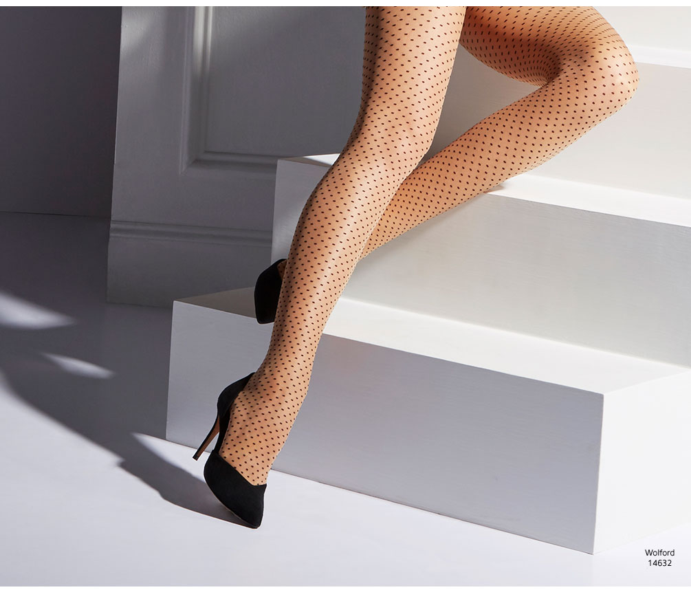 Wolford Dots Control Top Tights 14632
