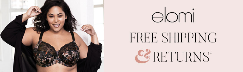 Elomi - free shipping and returns elomi bras