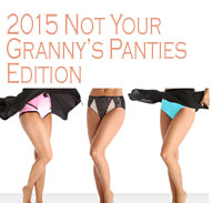 What's She Underwearing - Not Your Granny's Panties 2015 Edition