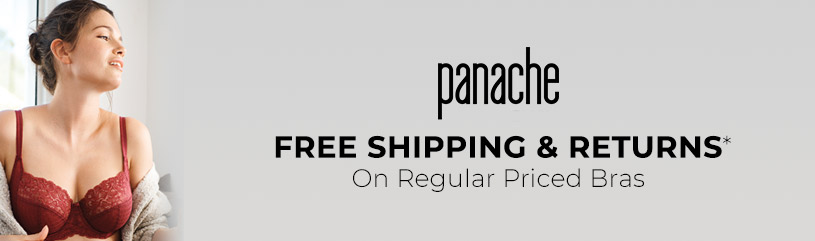Panache - free shipping and returns Panache bras