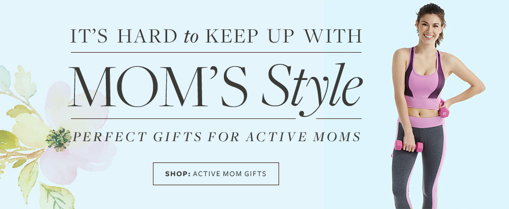 Shop Active Mom Gifts