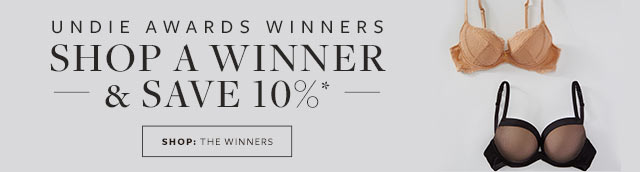 Shop Undie Awards Winners - 10% Off