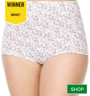 Warner's No Pinching No Problems Micro Brief Panty 5738
