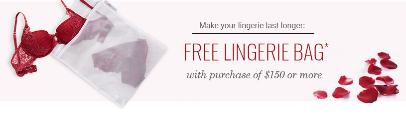 Free Lingerie Bag With Purchase
