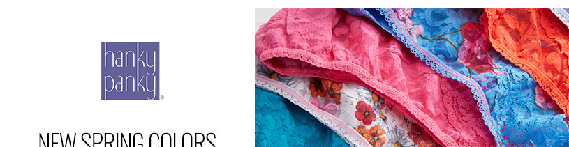 Shop Hanky Panky Spring Colors