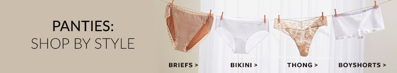 Panties: Shop By Style