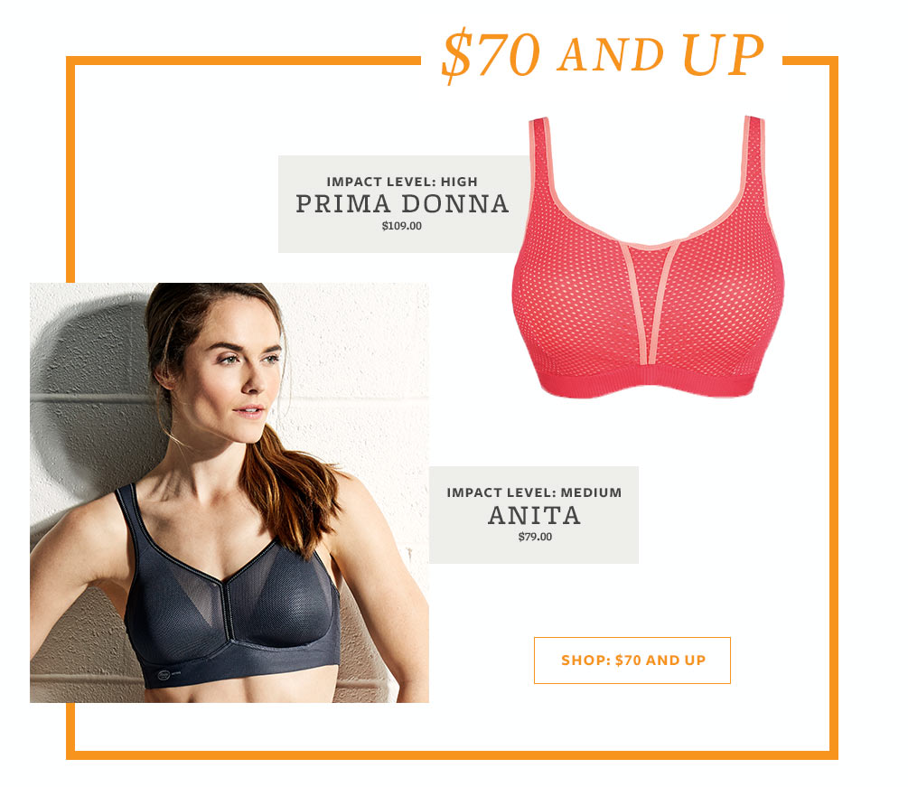 Best Sports Bras Lookbook - $70 And Up