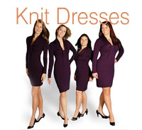 What's She Underwearing - Knit Dresses
