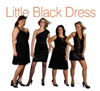 What's She Underwearing - Little Black Dress