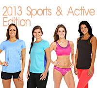 What's She Underwearing - Sports & Activewear 2013 Edition