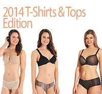 What's She Underwearing - T-Shirts & Tops 2014 Edition