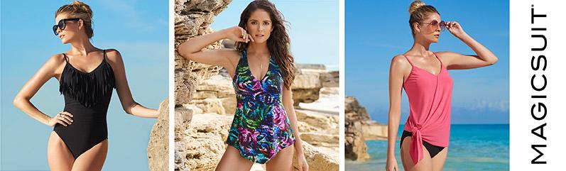 ca5fa35f04a Shop for MagicSuit Swimwear - Swimwear by MagicSuit - HerRoom