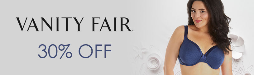 Vanity-Fair - favorite brands sale 30 pct off