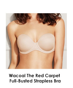 Wacoal The Red Carpet Strapless Full-Busted Underwire Bra 854119