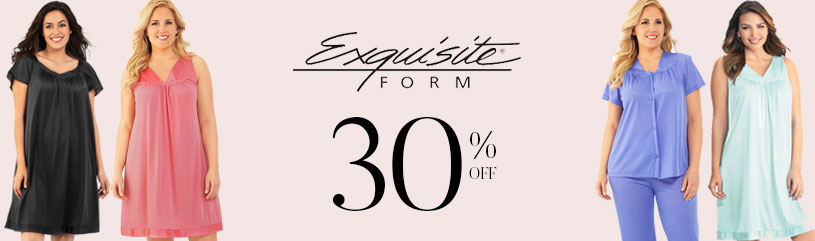 Exquisite-Form - favorite brands sale 30 pct off
