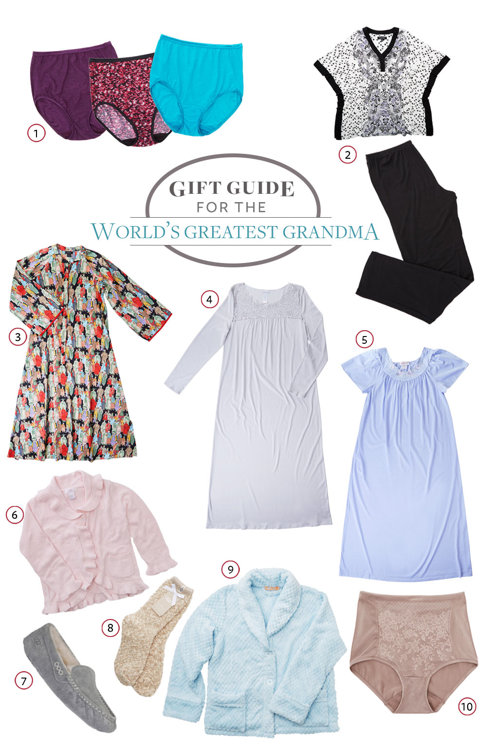 The World's Greatest Grandmother Gift Guide