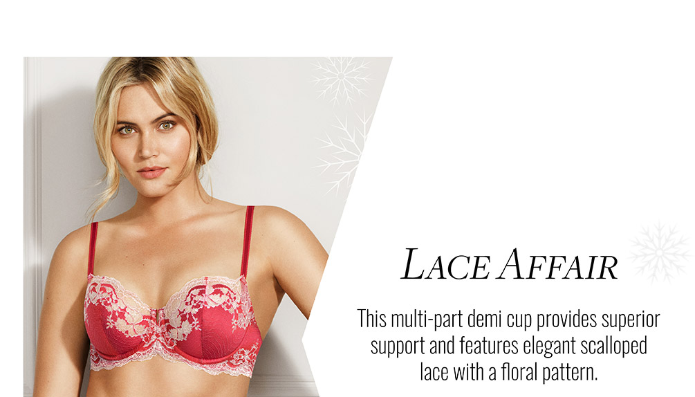Wacoal Lace Lookbook